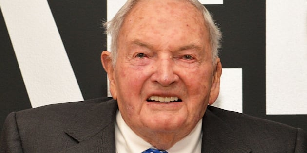 NEW YORK, NEW YORK - APRIL 07:  David Rockefeller attends 2016 David Rockefeller Award Luncheon at Museum of Modern Art on April 7, 2016 in New York City.  (Photo by Slaven Vlasic/Getty Images)