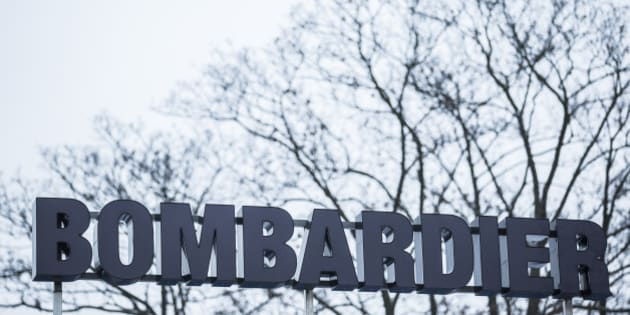 GOERLITZ, GERMANY - JANUARY 09: The logo in front of the plant of Bombardier is pictured on January 09, 2017 in Goerlitz, Germany. According to media reports Canadian train manufacturer Bombardier considers closing some of their plants in Germany. (Photo by Florian Gaertner/Photothek via Getty Images)