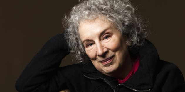"Canadian author Margaret Atwood poses for a portrait as she promotes her film ""Payback"" in Toronto, March 6, 2012.    REUTERS/Mark Blinch (CANADA - Tags: ENTERTAINMENT HEADSHOT)"