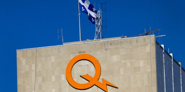 The Hydro-Quebec office stands in Montreal, Quebec, Canada, on Saturday, Nov. 5, 2011. Hydro-Quebec, a government-owned public utility, is in charge of the generation, transmission and distribution of electricity across Quebec. Photographer: Brent Lewin/Bloomberg via Getty Images