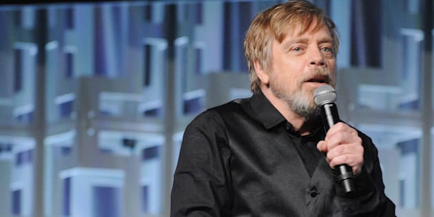 ORLANDO, FL - APRIL 14:  Mark Hamill attends the Star Wars: The Last Jedi panel during the 2017 Star Wars Celebration at Orange County Convention Center on April 14, 2017 in Orlando, Florida.  (Photo by Gerardo Mora/Getty Images for Disney)