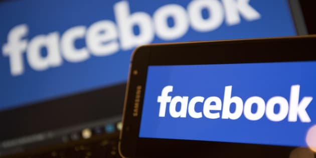 Facebook logos are pictured on the screens of a smartphone (R), and a laptop computer, in central London on November 21, 2016. Facebook on Monday became the latest US tech giant to announce new investment in Britain with hundreds of extra jobs but hinted its success depended on skilled migration after Britain leaves the European Union. The premier social network underlined London's status as a global technology hub at a British company bosses' summit where Prime Minister Theresa May sought to allay business concerns about Brexit. / AFP / Justin TALLIS        (Photo credit should read JUSTIN TALLIS/AFP/Getty Images)