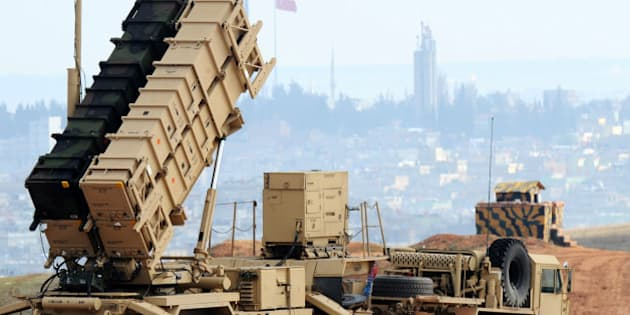 A Patriot missile launcher system is pictured at a Turkish military base in Gaziantep on February 5, 2013. The United States, Germany and the Netherlands committed to send two missile batteries each and up to 400 soldiers to operate them after Ankara asked for help to bolster its air defences against possible missile attack from Syria. AFP PHOTO/BULENT KILIC        (Photo credit should read BULENT KILIC/AFP/Getty Images)