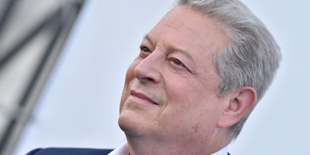 LOS ANGELES, CA - MAY 06:  Former Vice President of the United States Al Gore arrives at the advance Fandango screening of Paramount Pictures' 'An Inconvenient Sequel: Truth to Power' at The Greek Theatre on May 6, 2017 in Los Angeles, California.  (Photo by Axelle/Bauer-Griffin/FilmMagic)