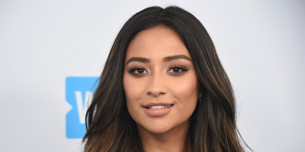 Shay Mitchell attends the WE Day event in Los Angeles, California, U.S., April 27, 2017. REUTERS/Phil McCarten