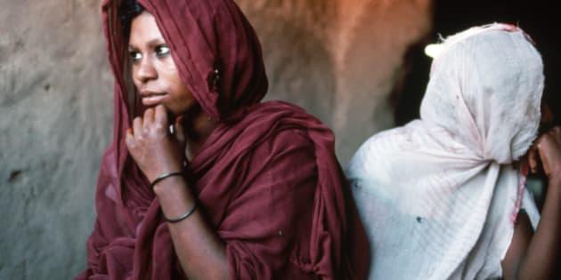 Muslim women from Sudan. 1989.