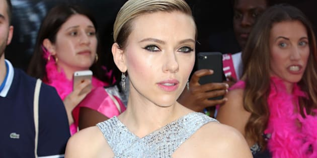 "Scarlett Johansson attends the premiere of ""Rough Night"" at AMC Lincoln Square in New York"