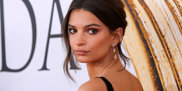 Actress and model Emily Ratajkowski arrives for the 2016 CFDA Fashion Awards in Manhattan, New York, U.S., June 6, 2016.  REUTERS/Andrew Kelly