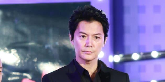 BEIJING, CHINA - JANUARY 15:  Japanese actor Fukuyama Masaharu attends 'Manhunt' press conference on January 15, 2017 in Beijing, China.  (Photo by VCG/VCG via Getty Images)
