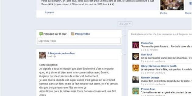 Facebook Pres De 50 000 Jeunes S Invitent A Son Anniversaire Le