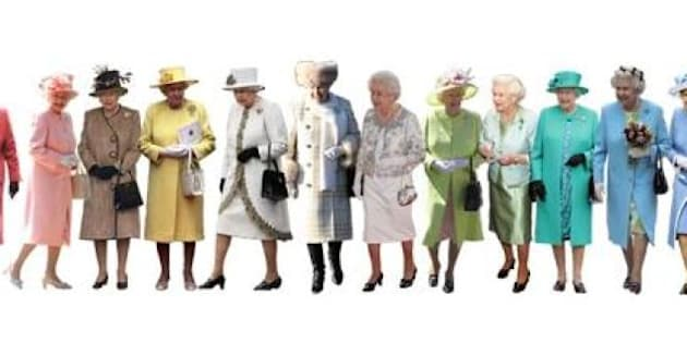 English In Italian: A Pantone Colour Guide To Queen Elizabeth's Style (PHOTOS