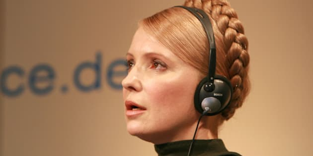 45th Munich Security Conference 2009: The Prime Minister of the Ukraine, en:Yulia V. Timoshenko | Yulia V. Timoshenko . |  Source http:// ...