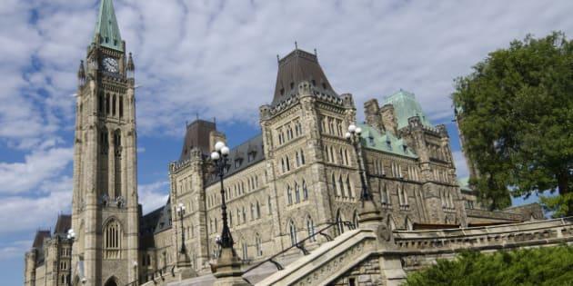 the canadian parliament centre...