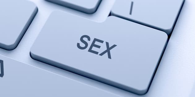 sex button on keyboard with...