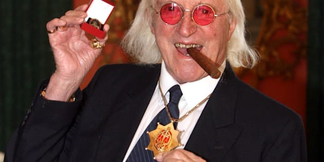 "File photo dated 25/03/08 of Sir Jimmy Savile, as BBC director-general George Entwistle offered a ""profound and heartfelt apology"" to the alleged victims of Sir Jimmy Savile's sexual abuse as he announced that two inquiries would be launched."