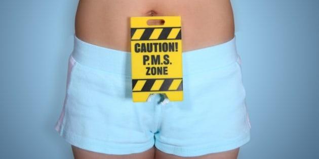 humorous pms warning theme