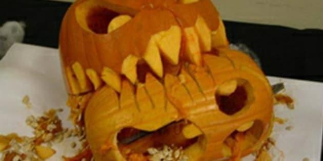 Las peores mejores calabazas de Halloween (FOTOS)