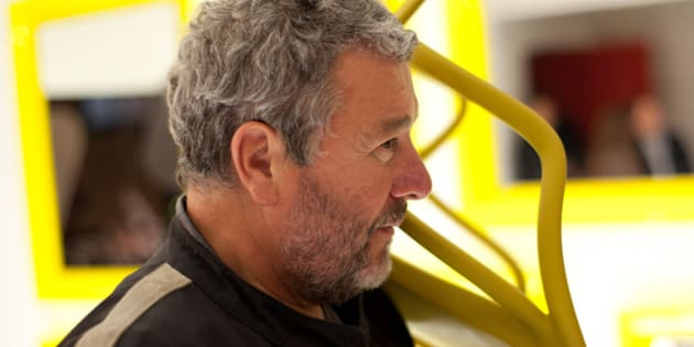 description 1 Philippe Starck, Designer holding a Kartell's Chair | date 2011-11-16 | source http://www. flickr. com/photos/jikatu/ ...