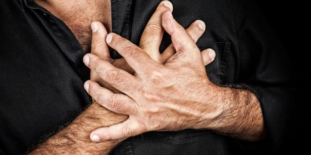 close up of two hands grabbing...