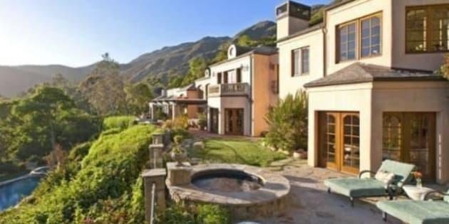 maison de stars forbes publie les prix de vente des villas de dicaprio 50cent cline dion mickael jordan