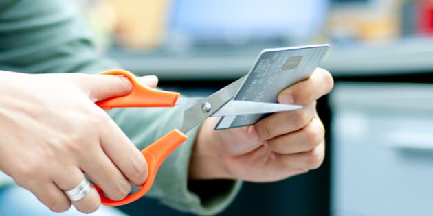 cut credit card