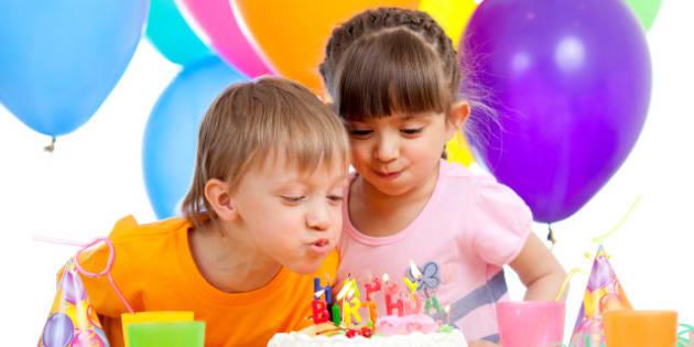kids celebrating birthday party ...