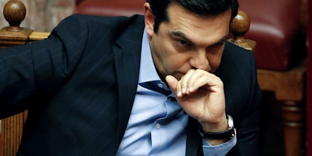 Prime Minister Alexis Tsipras' government was re-elected in September on promises to ease the pain of austerity for the poor and protect pensions.