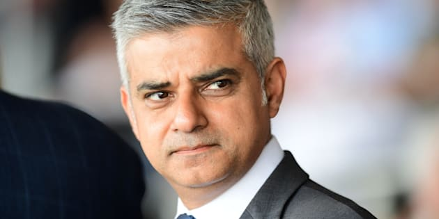 Britain's new London Mayor Sadiq Khan attends the Yom HaShoah Commemoration, the UK Jewish community's Holocaust remembrance ceremony, in Barnet, north London, on May 8, 2016. London's new Muslim mayor Sadiq Khan accused Prime Minister David Cameron on Sunday of using 'Donald Trump playbook' tactics to try to divide communities in a bid to prevent his election. Khan won 57 percent of the vote in the May 5 mayoral election, securing 1.3 million votes to see off multimillionaire Tory Zac Goldsmith and making history as the first Muslim mayor of a major Western capital. / AFP / LEON NEAL        (Photo credit should read LEON NEAL/AFP/Getty Images)