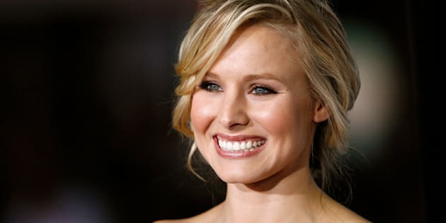 Meet our new mental health idol, Kristen Bell.