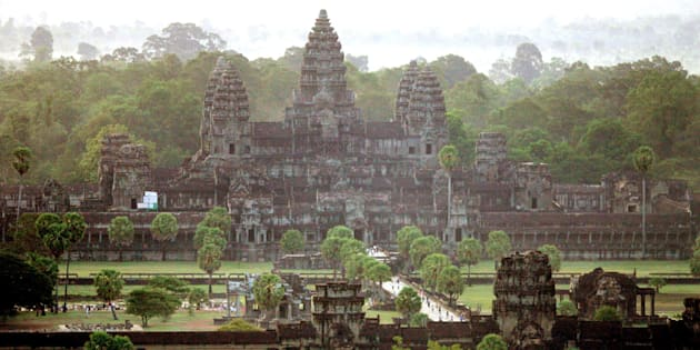 Researchers say they have discovered ancient cities buried around the ruins of Angkor Wat, a massive temple complex located in Cambodia's jungle.