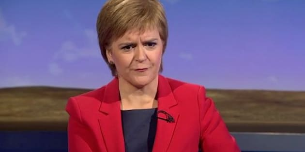 Nicola Sturgeon says SNPs could veto Brexit