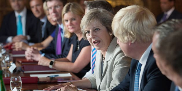 Theresa May holds a cabinet meeting at the Prime Minister's country retreat Chequers in Buckinghamshire to discuss department-by-department Brexit action plans.