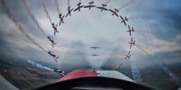 Photographer: Daniel Vojtech Red Bull Illume 2016 Category: Sequence Athletes: Miroslav Krejci, Jan Rudzinskyj, Stanislav Cejka and Jan Tvrdik Location: Jaromer, Czech Republic