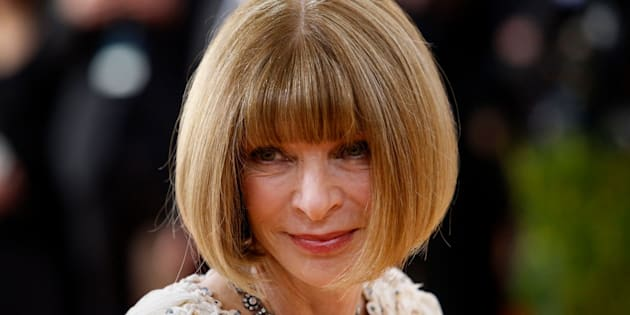 Anna Wintour is the editor-in-chief of Vogue, which endorsed Hillary Clinton for president.
