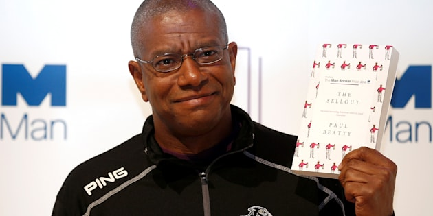 """Author Paul Beatty was honored for his book, """"The Sellout,"""" a biting satire on race relations in America."""
