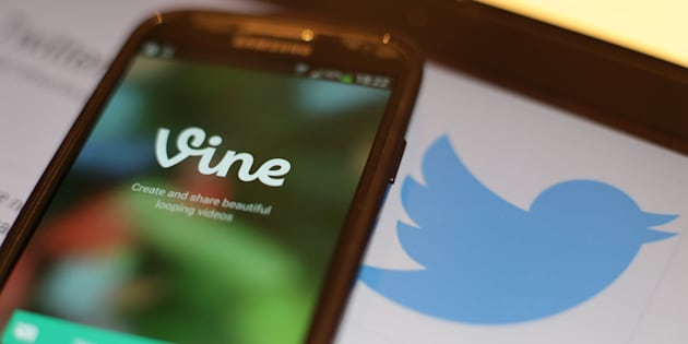 General view of Vine, the six-second video app owned by Twitter on a smartphone, as Twitter has announced that the service will be discontinued.