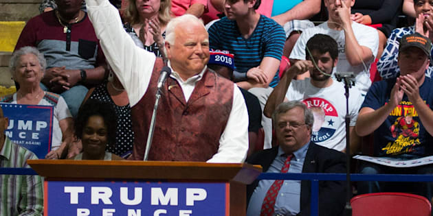 Texas Agriculture Commission Sid Miller is a big fan of Donald Trump.