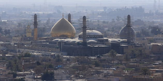 A general view of Samarra, February 3, 2016. Picture taken February 3, 2016.
