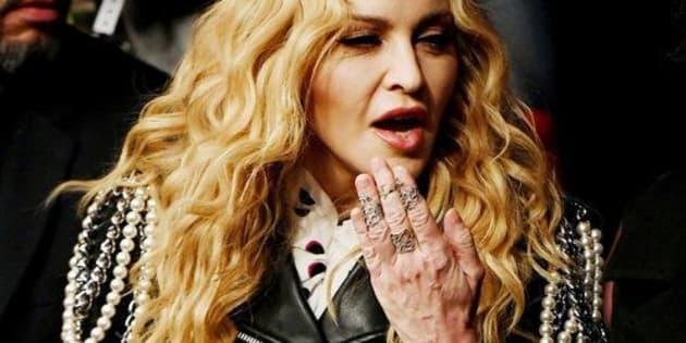 NEW YORK, NY - NOVEMBER 12:  Music recording artist Madonna attends the UFC 205 event at Madison Square Garden on November 12, 2016 in New York City.  (Photo by Jeff Bottari/Zuffa LLC/Zuffa LLC via Getty Images)