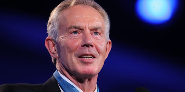 ST PAUL, MN - JULY 17: Former British Prime Minister Tony Blair at the 2016 Starkey Hearing Foundation 'So the World May Hear' awards gala at the St Paul RiverCentre on July 17, 2016 in St Paul, Minnesota. (Photo by Adam Bettcher/Getty Images for Starkey Hearing Foundation)
