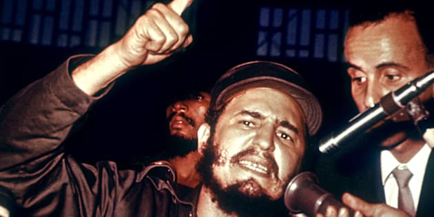 HAVANA CUBA Picture dated June 1970 of Cuban President Fidel Castro during a press conference in Havana FILM AFP PHOTO Photo credit should read AFPGetty Images