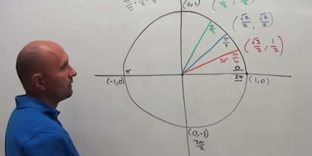 University of Nevada math instructor George Buch teaches a class