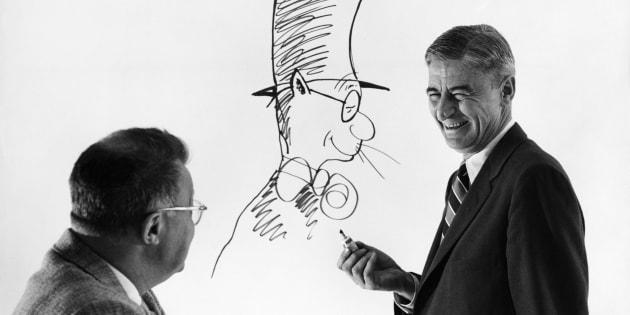 Dr. Seuss and Clifton Fadiman