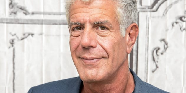 NEW YORK, NY - NOVEMBER 02:  Anthony Bourdain visits the Build Series to discuss 'Raw Craft' at AOL HQ on November 2, 2016 in New York City.  (Photo by Mike Pont/WireImage)