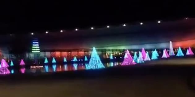 Ark Encounter all dressed up for the holidays.