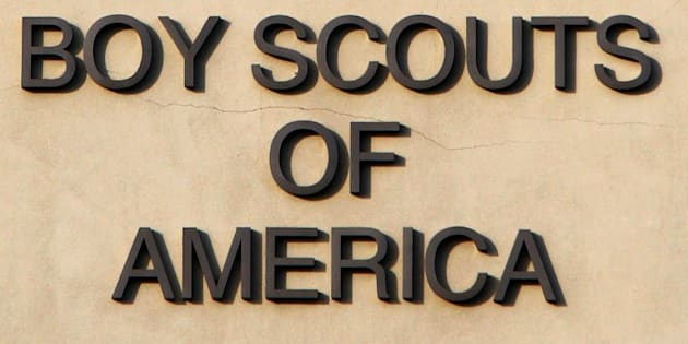 The Boy Scouts of America signage is seen on the Cushman Watt Scout Center headquarters of the organization for the Los Angeles Area Council in Los Angeles California October 18 2012 The Boy Scouts of America acting on a court order released on Thursday thousands of files that detail allegations and admissions of child sex abuse within the organization between 1965 and 1985 REUTERS/Fred Prouser