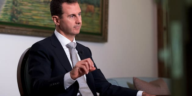 Syria's President Bashar al-Assad speaks during an interview with a Cuban news agency in this handout picture provided by SANA on July 21, 2016. SANA/Handout via REUTERS ATTENTION EDITORS - THIS PICTURE WAS PROVIDED BY A THIRD PARTY. REUTERS IS UNABLE TO INDEPENDENTLY VERIFY THE AUTHENTICITY, CONTENT, LOCATION OR DATE OF THIS IMAGE. FOR EDITORIAL USE ONLY.