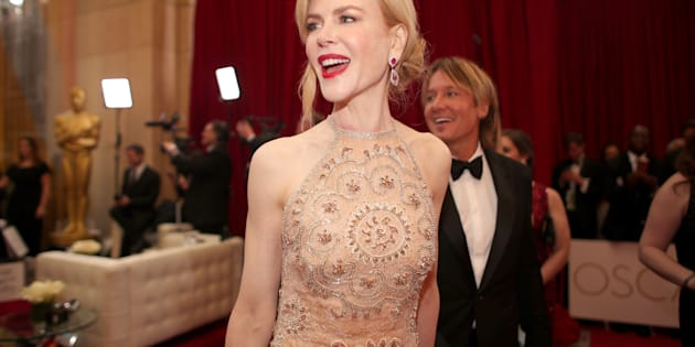 HOLLYWOOD, CA - FEBRUARY 26:  Actor Nicole Kidman attends the 89th Annual Academy Awards at Hollywood & Highland Center on February 26, 2017 in Hollywood, California.  (Photo by Christopher Polk/Getty Images)