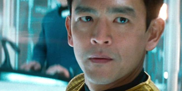 LOS ANGELES - MAY 16: John Cho as Lieutenant Hikaru Sulu in the 2013 movie, 'Star Trek: Into Darkness.' Release date May 16, 2013. Image is a screen grab. (Photo by CBS via Getty Images)