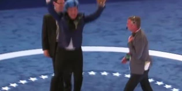 Stephen Colbert at the DNC.